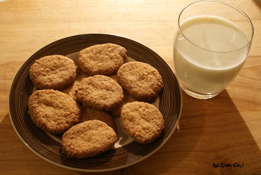 Ciasteczka maślane z kokosem