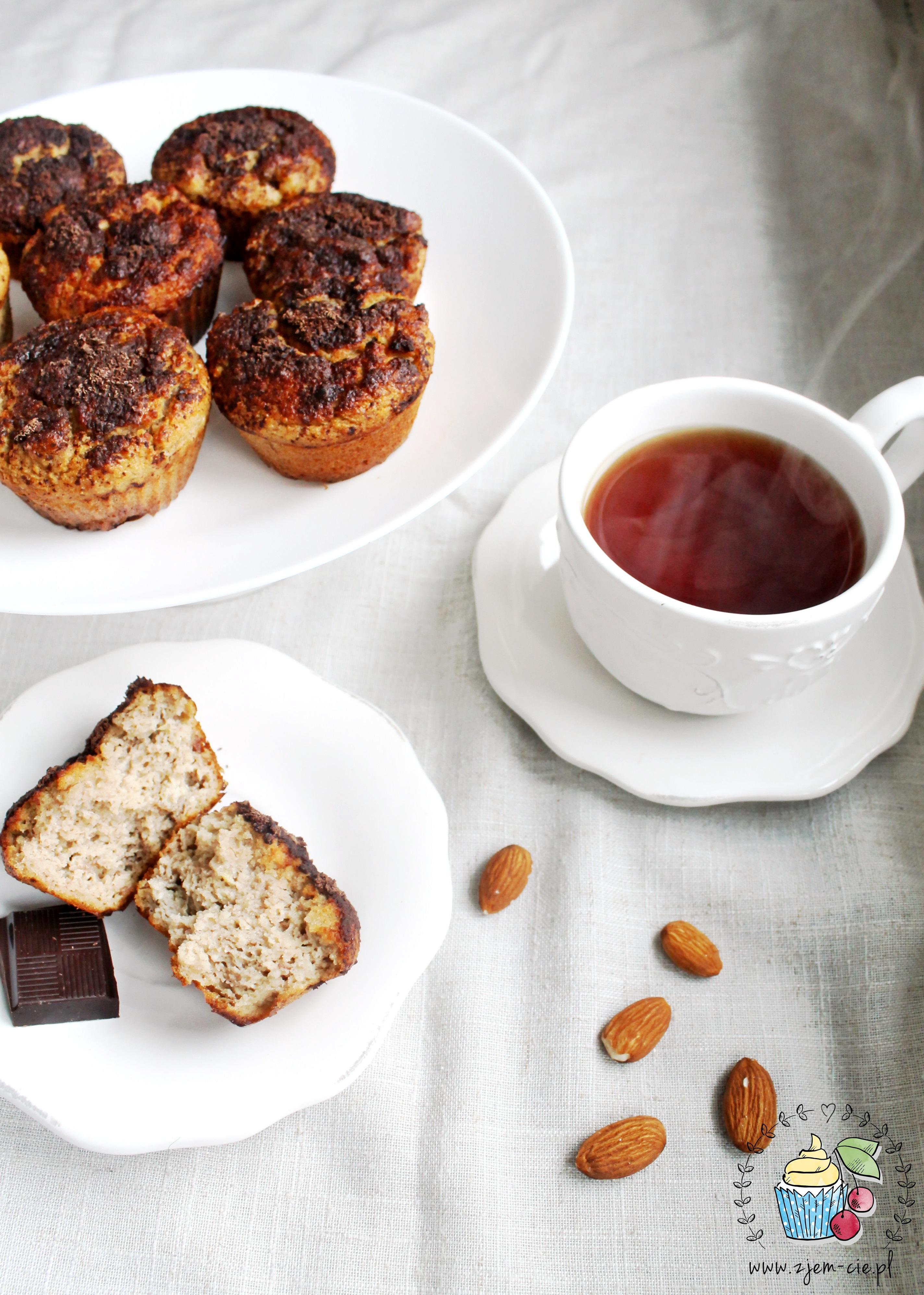 Muffinki z migdałów