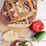Chleb z naczynia żaroodpornego - rośnie, jak na drożdżach :)