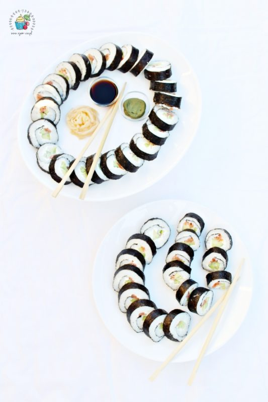 sushi Kalifornia Rolls